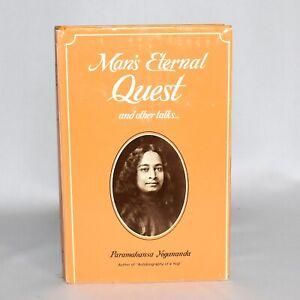 Man-039-s-Eternal-Quest-and-Other-Talks-Paramahansa-Yogananda-Hardcover-1975