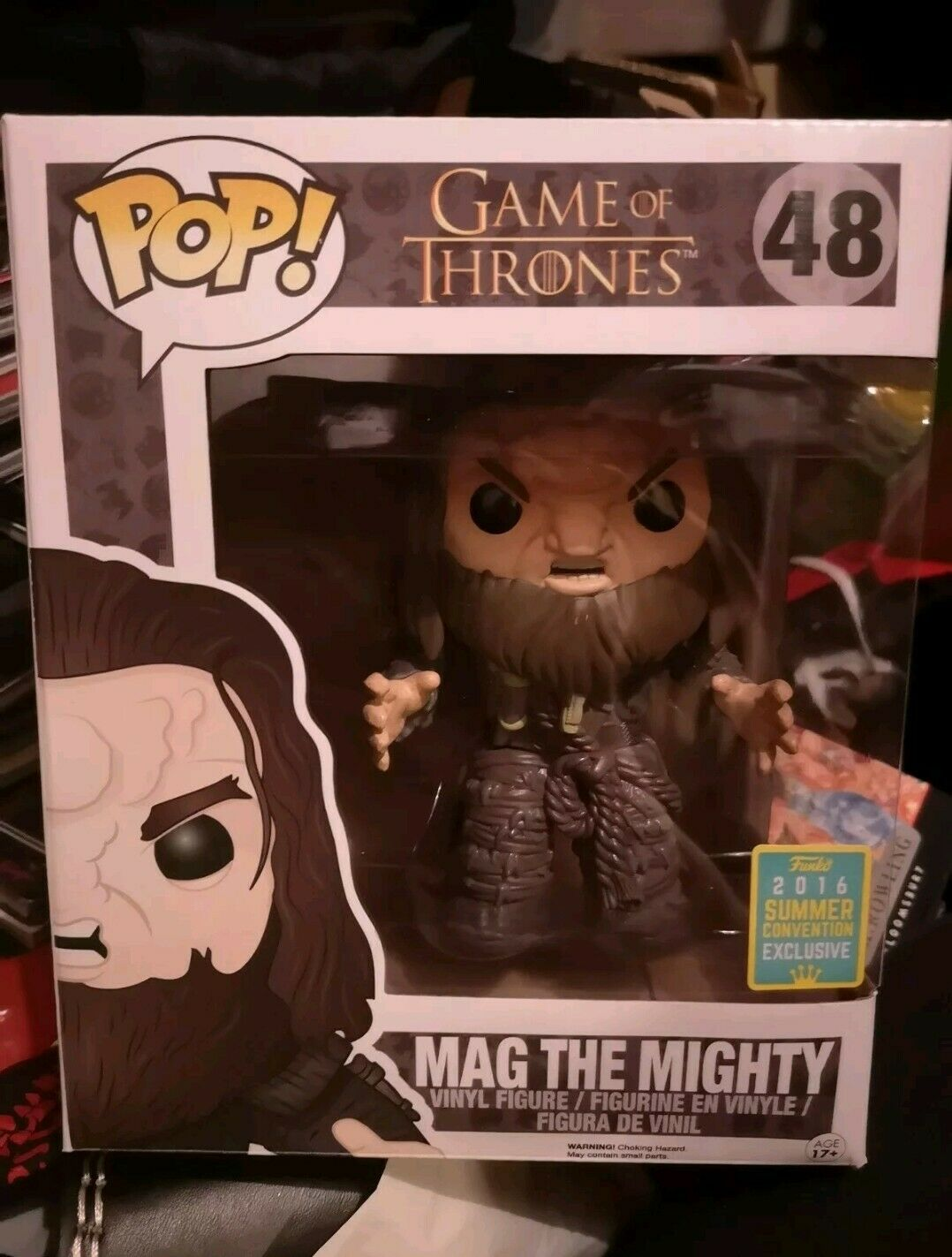 Game Of Thrones Funko Funko Funko Pop Vinyl Mag The Mighty 6 Inch  48 f41252