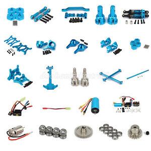 Alum-Parts-For-RC-1-18-WLtoys-Off-road-A959-A969-A979-K929-Blue-DIY