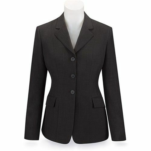 NEW RJ Classics Ladies Devon Show Coat- marrone Plaid - D8266 - Various Sizes