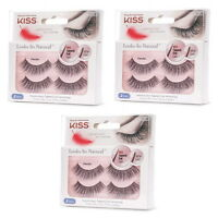 Kiss False Eyelashes, Looks So Natural, Tapered End Lash, Graceful
