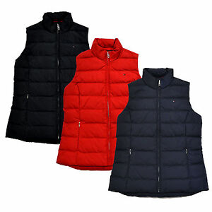 51009cda732dd Image is loading Tommy-Hilfiger-Womens-Puffer-Vest-Sleeveless-Down-Insulate-