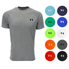 'Under Armour Men's UA Tech T-Shirt' from the web at 'https://i.ebayimg.com/images/g/d5gAAOSwEEBaHIv3/s-l225.jpg'