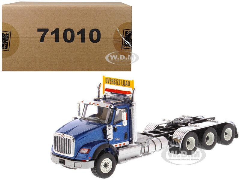 Día Internacional HX620 Cabina Camión Tractor blu 1 50 por Diecast Masters 71010