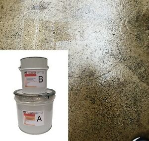 1 2 Kg 2k Epoxidharz Bodenbeschichtung Farblos Boden Versiegelung