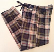 Pajama Pants NEW Mens Stafford Fleece Sleep Size XXL 44-46 plaid Lounge