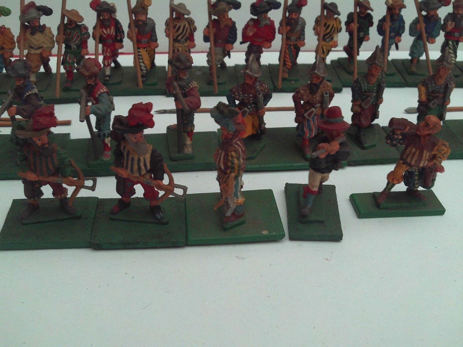 Essex miniaturas 25 28mm Pintado & basado en Renacimiento landsknechts X 33 piezas