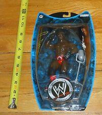 2004 WWF WWE Jakks Booker T Ruthless Aggression Series 11 Wrestling figure MOC