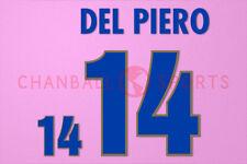 Del Piero #14 1996 EURO Italy Awaykit Nameset Printing
