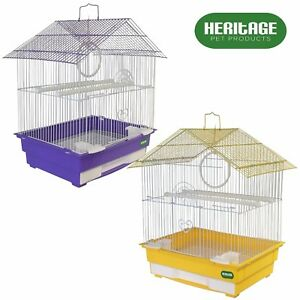HERITAGE-CAGES-ALBANY-SMALL-BIRD-CAGE-36x29x46CM-FINCH-BUDGIE-CANARY-PET-HOME
