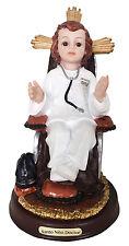 5 Inch Santo Nino Doctor Estatua Jesus Doctor Statue