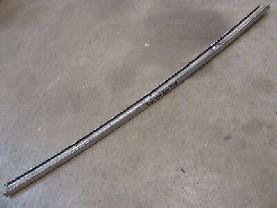 belt line molding 1961-1963 Ford Thunderbird 2 door hardtop window sweep seals