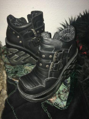 New Rock Cuña Sport platform boots women's size 37