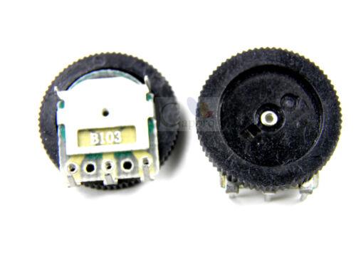 20pcs 5K ohm 16x2mm 502 B502 Gear Potentiometer Pulley Wheel Potentiometer NEW