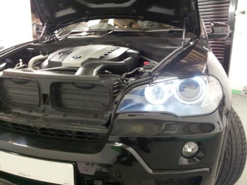 BMW X5 E70 LED White Angel Eyes Halo Marker Rings Upgrade