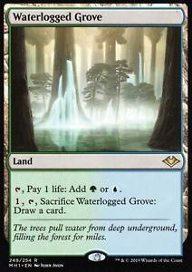 Waterlogged-Grove-NM-M-Modern-Horizons-Magic-MTG