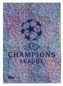 CHAMPIONS-LEAGUE-TOPPS-2019-20-2020-FIGURINA-N-1-LOGO-NEW