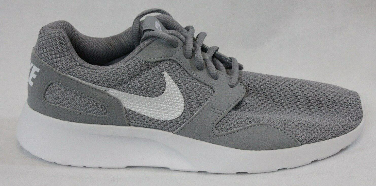 NEW Womens NIKE Kaishi 654845 010 Wolf Wolf 010 Grey White Sneakers Shoes 9e319a