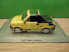 Modelcar 1:43   FIAT 126P CABRIO  *** IXO IST ***