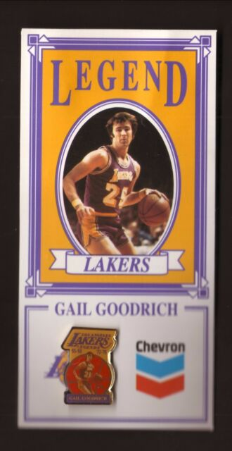 57e14d48e65 Gail Goodrich--Los Angeles Lakers Legends Pin--Chevron