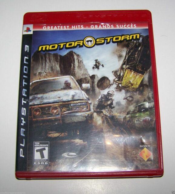 MotorStorm ( Sony Playstation 3, 2007 ) PS3