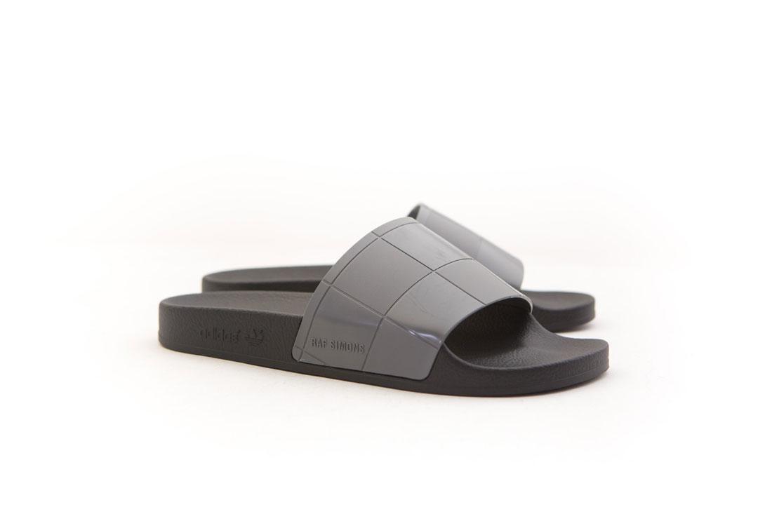 B22525 adidas schwarzen x raf simons männer adilette schachbrett, schwarzen adidas kern schwarzem granit b1aff9
