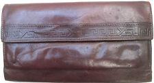 -AUTHENTIQUE portefeuille-porte-monnaie YVES SAINT LAURENT  cuir  (T)BEG vintage