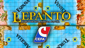 Multi-Anuncio de accesorios del juego de mesa LEPANTO de CEFA