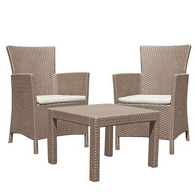 3tlg Lounge Seating Miami Set Garden Furniture Set Dining Rattan
