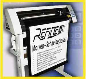 PROFI-Schneideplotter-v-REFINE-EH-720-mm-amp-ArtCut-2009-NEU-jetzt-inkl-USB-WIN-10
