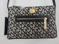 Authentic Tommy Hilfiger Long Starp Black Bag (a0921)