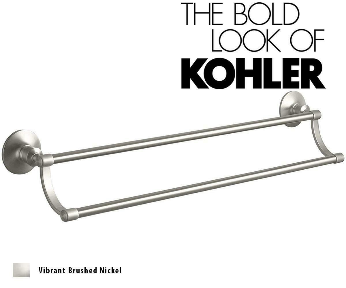 KOHLER K-13500-Bn Kelston 18-Inch Towel Bar Vibrant Brushed Nickel