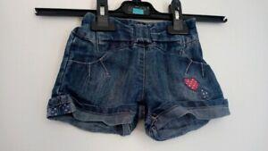 Short jeans bleu Kimbaloo 12 mois 1 an très bon état (237)
