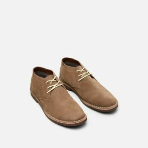 Desert Sun Suede Chukka Boots Taupe 11