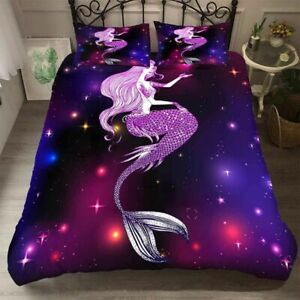 3D-Mermaid-Dream-Bedding-Set-Mandala-Duvet-Cover-Comforter-Cover-PillowCase