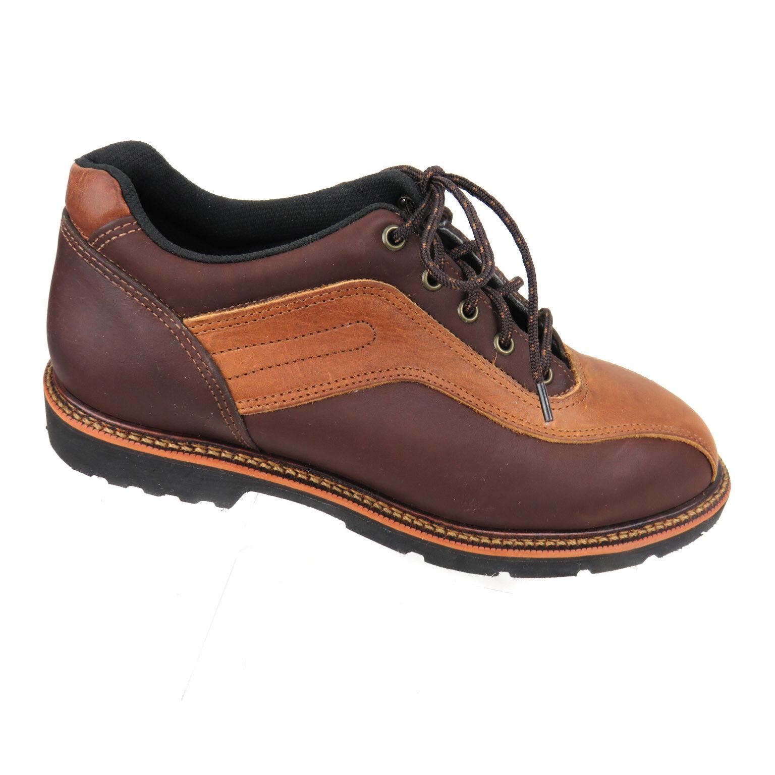 Thorogood Uomo Brown Sz 9.5 M Double Track Oxfords Brown Uomo Tan Oiled Leather 903e21