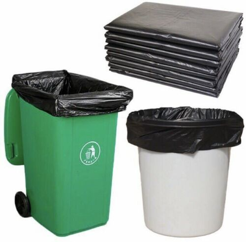 40 Count Heavy Duty Trash Bags 33 Gallons 1.5 Mil 33wx39h