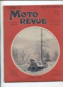 Moto Revue N°727 ; 13 Fevrier 1937 : Le 2 Temps à Double Piston / Bsa