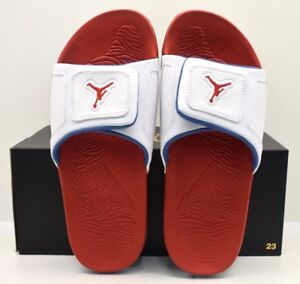 6a5396bc1 Jordan Hydro III Retro White Fire Red True Blue US Size 13 - FREE ...