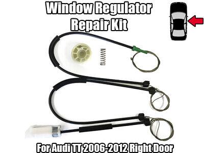 2X AUDI A4 S4 CONVERTIBLE WINDOW REGULATOR REPAIR KIT FRONT R//L SIDE 2002-2009