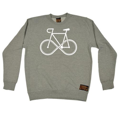 Infinity Bike RLTW SWEATSHIRT cycling cycle cyclist bicycle birthday funny gift