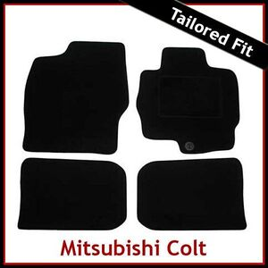 MITSUBISHI-COLT-Mk6-2004-2012-Fully-Tailored-Fitted-Carpet-Car-Floor-Mats-BLACK