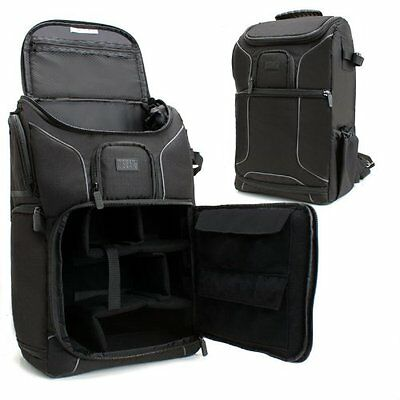 USA GEAR S17 Professional DSLR Camera and Laptop Backpack