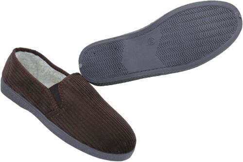 Herren Hausschuhe Pantoffeln Winter Schlappen Latschen Schuhe Nr 61-1010