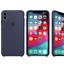 Para-Apple-iPhone-XS-Max-XR-6-7-de-8-PLUS-de-silicona-suave-cubierta-estuche-original-de-Fabricante miniatura 10
