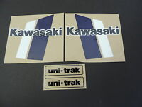 1980 Kawasaki Kx 420 Gas Tank And Swingarm Decal Kit Vintage Motocross
