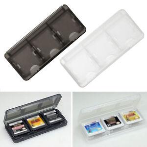 6in1-Aufbewahrung-Spielebox-Schutzhuelle-Game-Case-fuer-3DS-XL-LL-DS-Lite-D9H8