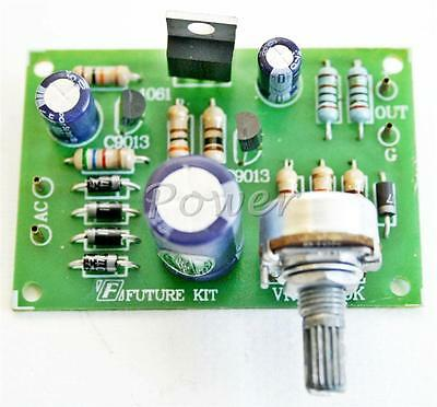 FA808: Variable DC Regulator 0-30 Vdc 1 A Power Supply Electronic Circuit