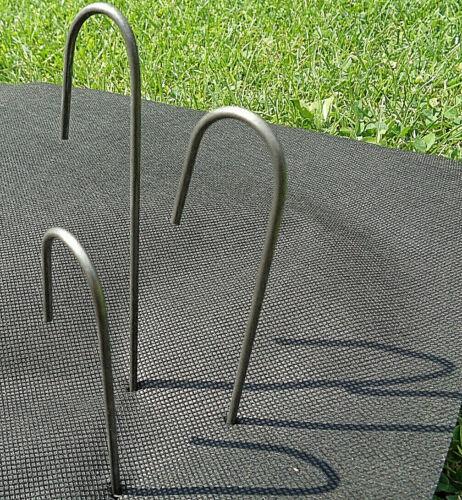 Heringe 25cm Zeltheringe Erdanker Bodenanker Erdnagel Bodenbefestigung NEU