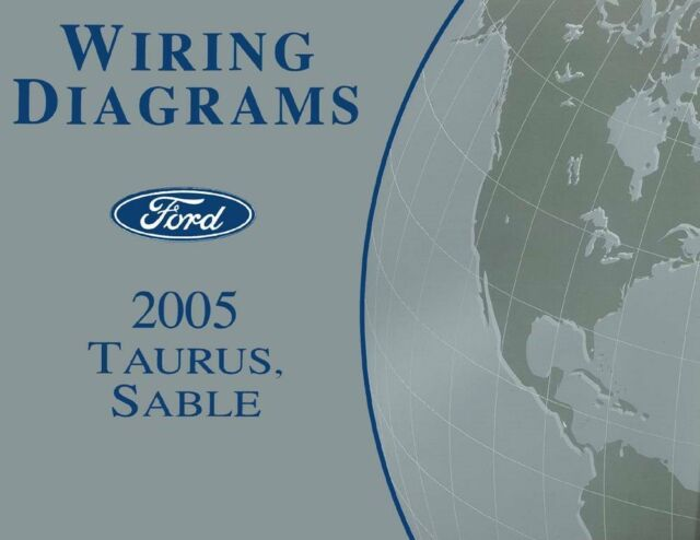 2005 Ford Taurus  Mercury Sable Wiring Diagrams Schematics